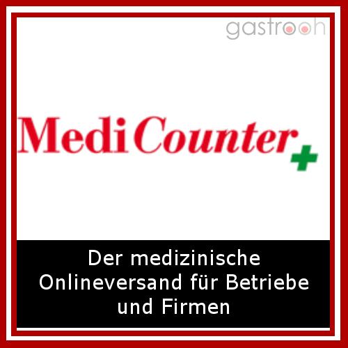 MediCounter- im MediCounter Erste Hilfe Shop finden Sie günstige Produkte rund um Erste Hilfe Zubehör und Notfallmedizin.