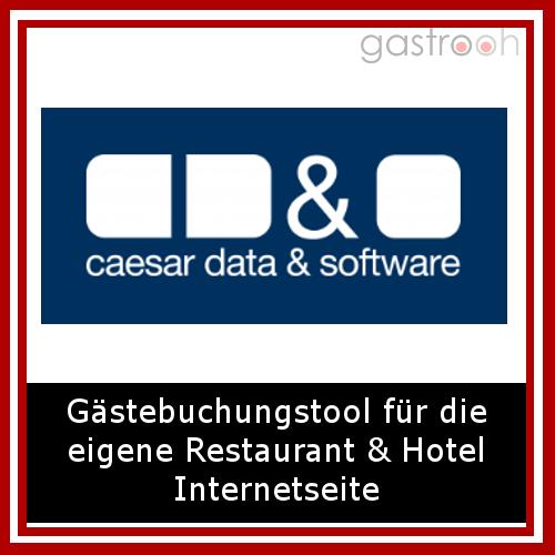 """Caesar Data- """"erweitern Sie Ihre eigene Homepage um die Funktion der Online-Buchbarkeit und bekommen Zugang zu neuen Märkten und zusätzlichen Umsätzen durch Online-Buchungen."""""""