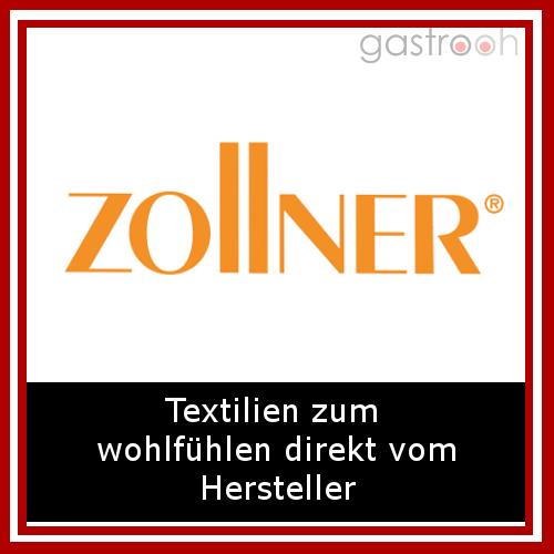 """Zollner-""""Bei uns finden Sie die größte Auswahl an bewährter Gastro-Tischwäsche, Hotelbettwäsche, Bettwaren, Hotelfrottier bis hin zur hochwertigen Berufskleidung """""""