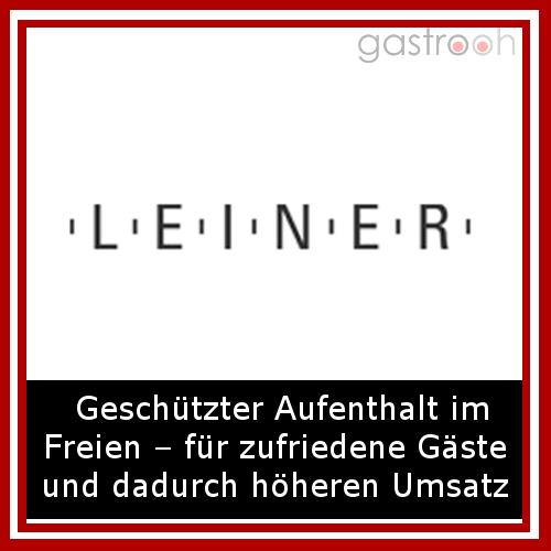 LEINER GmbH Sonnen- und Regenschutz für die Gastronomie