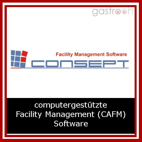 Consept FM ist eine computer unterstützte Facility Management Software für eine effiziente Instanthaltung von Gebäuden und technischen Anlagen.