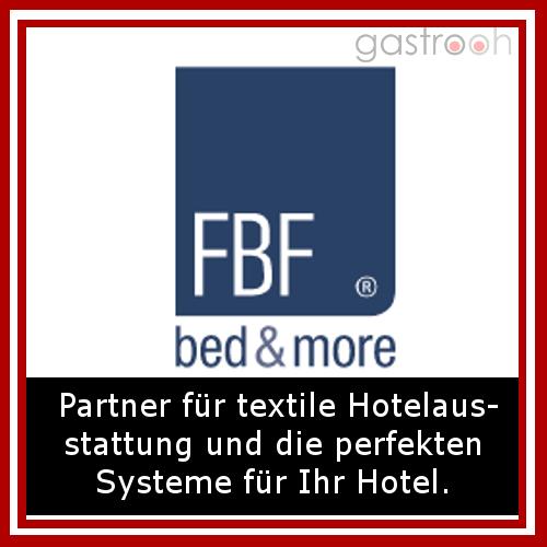 FBF Fränkische Bettwaren Fabrik- Beliefern Hotels mit Betten, Bettwaren, Textilien, aber auch Tischwäsche