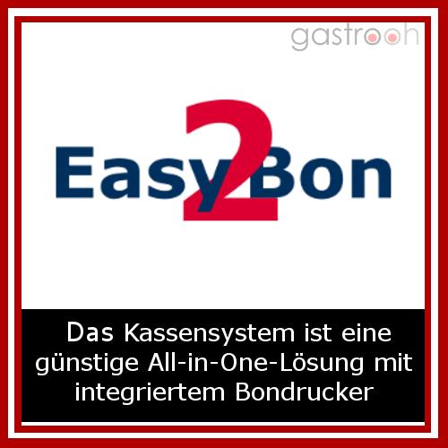 Das PC-Programm verzichtet bewusst auf eine Überladung mit Funktionen. Im Gegensatz zu herkömmlichen Kassenlösungen stellt Easy2Bon somit eine kostengünstige Alternative dar.