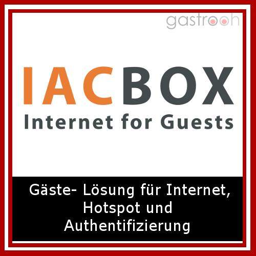 """""""IAC-BOX - Internet for Guests™ ermöglicht eine einfache und flexible Breitband Internetanbindung mit zahlreichen externen Schnittstellen und Authorisierungsmöglichkeiten zur Verfügung zu stellen."""