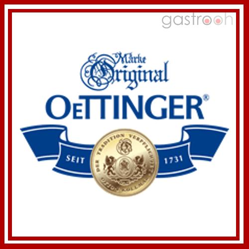 Die Oettinger Brauerei vertreibt viele verschiedene Biersorten, darunter Hefeweizen, alkoholfreies Bier, Alt, Radler, Schwarz- und Winterbier. Unter dem Namen Glorietta verkauft sie auch Softdrinks