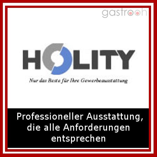 Holity.com betreibt als Versandhändler erfolgreich den Online-Verkauf von Produkten für die Ausstattung und Einrichtung von Geschäftsräumen, Hotel- und Gastronomiebetrieben.
