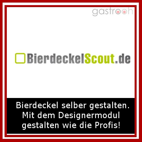 Bierdeckelscout- Auch eine Art Dekoration. Individuelle Bierdeckel auch mit Werbelogo.