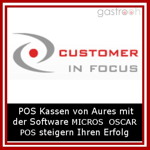 Customer in Focus- Gastronomie Kassensysteme: Steuern Sie effizient alle Geschäftsprozesse. Ob Hotel, Restaurant, Schnellimbiss oder Bar - POS Kassen von Aures mit der Kassensoftware MICROS OSCAR POS steigern Ihren Erfolg.Auch Personalplanung u. Business.