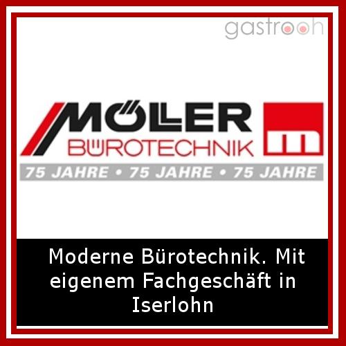 Möller Bürotechnik- Der Onlineshop bietet neben Büroausstattungen auch Büromöbel und Präsentationstechnik.