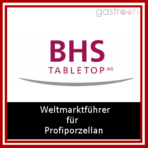 bhs Table Top- Mehr als 200 Millionen Menschen essen täglich von unserem Porzellan. In Hotels und Restaurants genauso wie in Seniorenheimen, Betriebsrestaurants und Krankenhäusern.