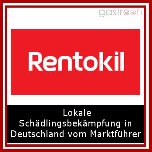 Rentokill Schädlingsbekämpfung- seit 50 Jahren Marktführer und mit einem flächendeckendem Filialnetz deutschlandweit vertreten.
