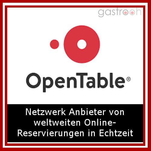 OpenTable ist ein Anbieter von kostenlosen Restaurant-Online-Reservierungen in Echtzeit für Gäste und einer Reservierungs- und Gästemanagement-Lösung für Restaurants.