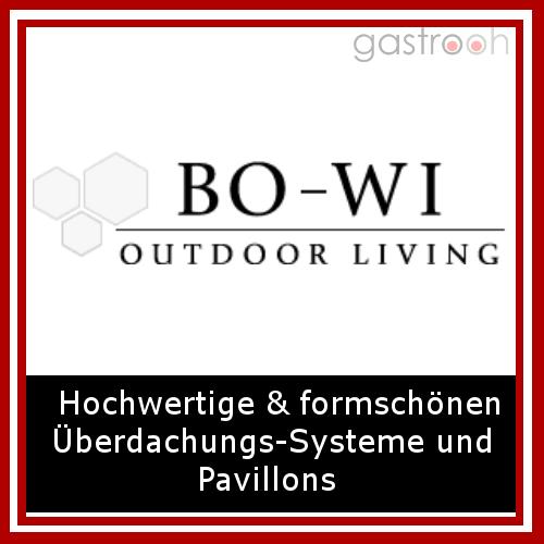 BO-WI Outdoor Living entwickelt und produziert hochwertige und formschöne Überdachungs-Systeme aus Metall, maßgeschneidert für Hotels & Gastronomie