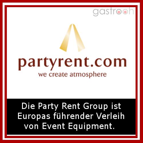 party rent (Mietmöbel und Eventausstattung)- Eventagentur mit Standorten in allen deutsch Großstädten.