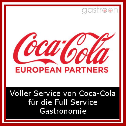 Coca Cola- liefert neben den gängigen Klassikern auch Säfte, Energydrinks und sogar Kaffee