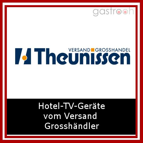 Theunissen- Als Versand Großhandel bietet der Onlineshop in der  Rubrik Hotel eine Bandbreite von Branchenprodukten. Von Zimmereinrichtungen über Wellnesprodukten bis Konferenztechnik und mehr.