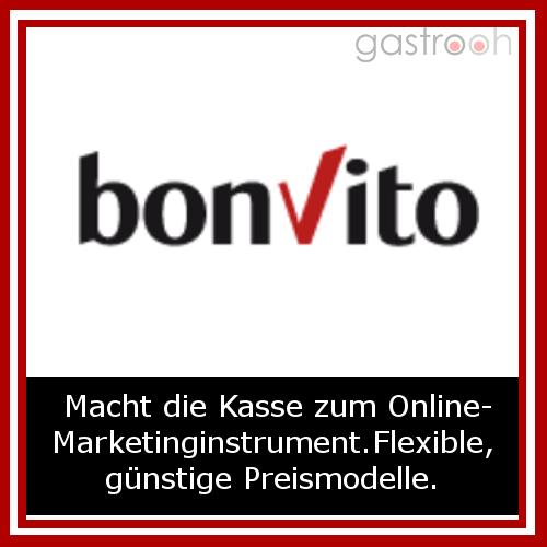 bonvito ist eine Kassensoftware von Vectron, die Kundenbindung und Marketinginstrumente ermöglichkeiten.