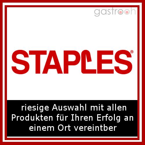 Staples- einer der großen Büroausstatter mit bundesweiten Shops.