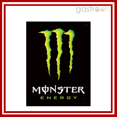 Monster Energy- Nach Red Bull die Nr. 2 unter den Energy Drinks.