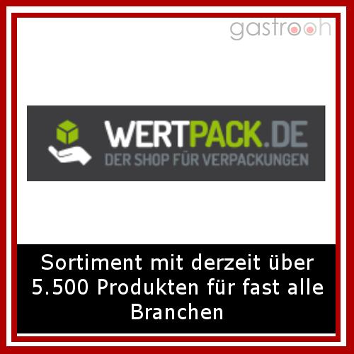 Wertpack.de- Wertpack.de hat über 5500 Verpackungs- und Einweg-Produkte für fast alle Branchen im Angebot. Z.B.: Bäckereiverpackungen, Geschenkverpackungen, Bürobedarf, Kopierpapier, Kassenrollen und Hygieneartikel.