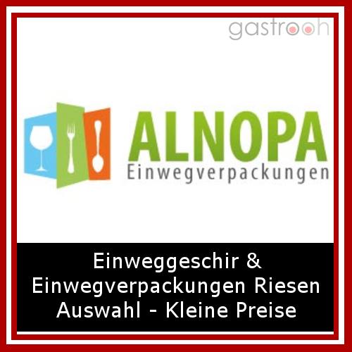 Alnopa beliefert seit nunmehr als 15 Jahren Gastronomiebetriebe mit Verpackungen aller Art.