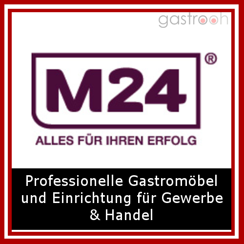 """M24- Einer der großen Möbellieferanten der Branche. """"Möbel für Ihren Erfolg"""" sagt M24"""