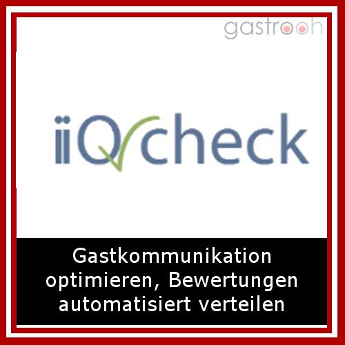 iiQ Check- Analysieren Sie außerdem mit dem iiQ-Check auf einen Blick die Qualität Ihrer Hotelleistungen und die Zufriedenheit Ihrer Gäste! Animieren Sie Ihre Gäste durch Bewertungen auf Ihrer Website zur Direktbuchung!