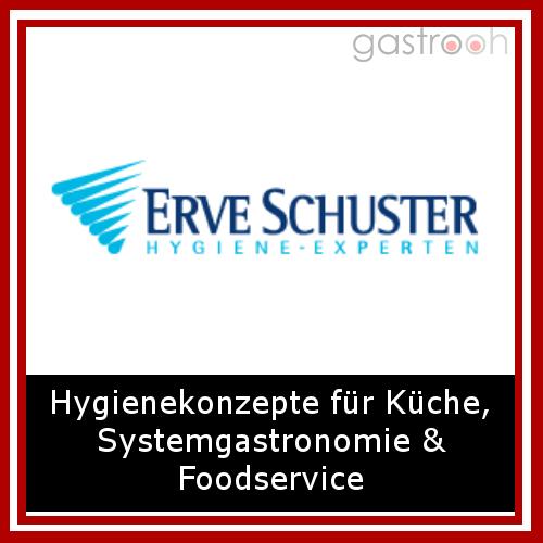 Erve Schuster- Das Hygienekonzept Spezial ist die Hygienelösung für den hektischen Küchenalltag in der Gastronomie & Hotellerie.