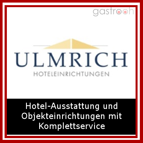 Ulmrich aus Niederstetten ist einer der führenden Komplettausstatter, Hoteleinrichter, Objektausstatter und Objekteinrichter in Deutschland.