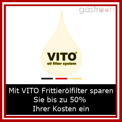 Vito- spezielles System für den Test und das Filtern von Fritteusenfett.
