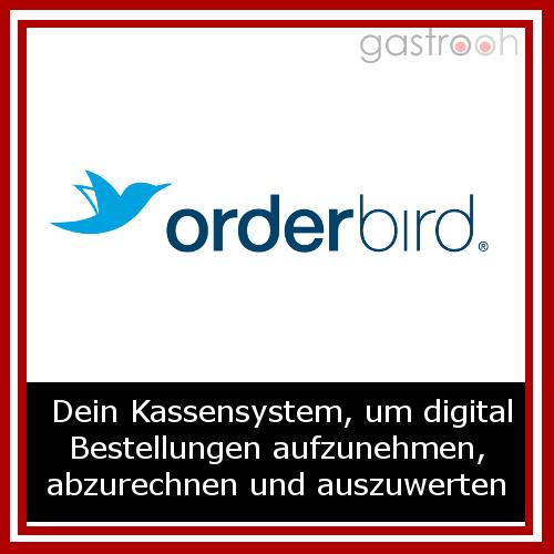 Das iPad-Kassensystem orderbird POS bietet ein vollständiges Kassensystem für Bars, Restaurants, Cafés sowie sonstige Betriebe in der Gastronomie.
