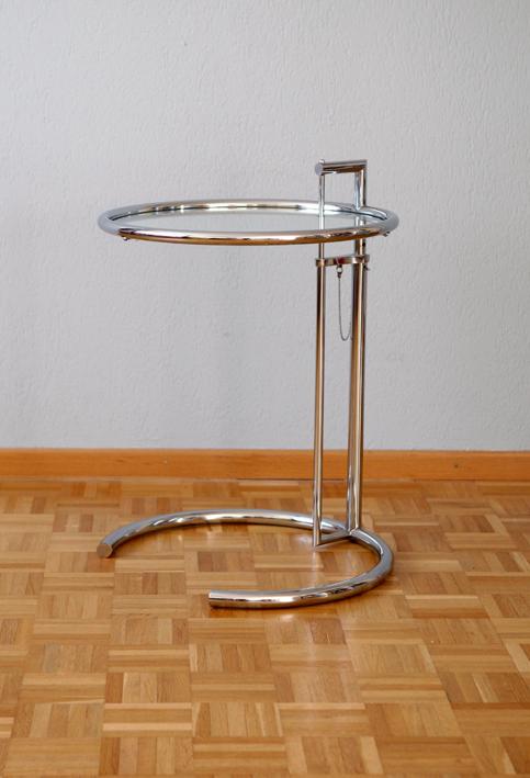 Eileen Gray E1027 Adjustable Table