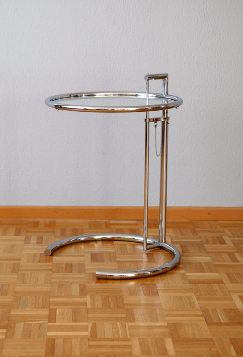 Eileen Gray E1027 Adjustable Table
