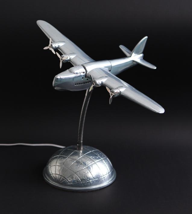 Art Deco Clipper Lamp