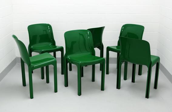 Vico Magistretti Selene Stühle