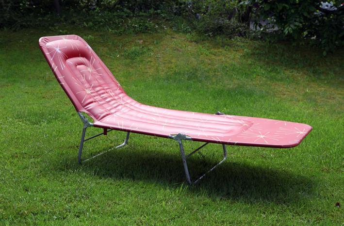 aufblasbare 50er jahre gartenliege shop f r vintage designerm bel. Black Bedroom Furniture Sets. Home Design Ideas