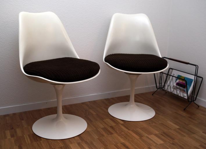 eero saarinen tulip chairs shop f r vintage designerm bel. Black Bedroom Furniture Sets. Home Design Ideas