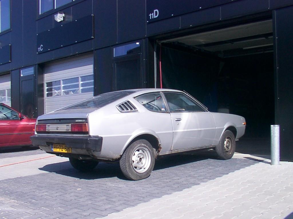 Wagen voor restauratie