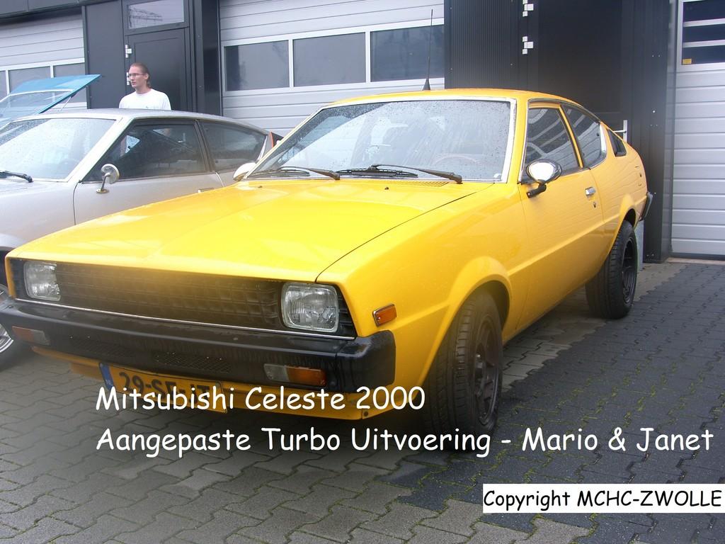 Celeste aangepaste versie met turbo en onderstel van Lancer Turbo