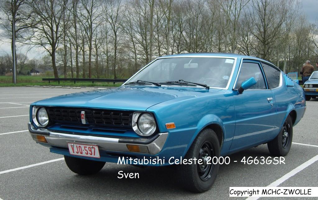 Mitsubishi Celeste 2000 met 4G63 GSR motor