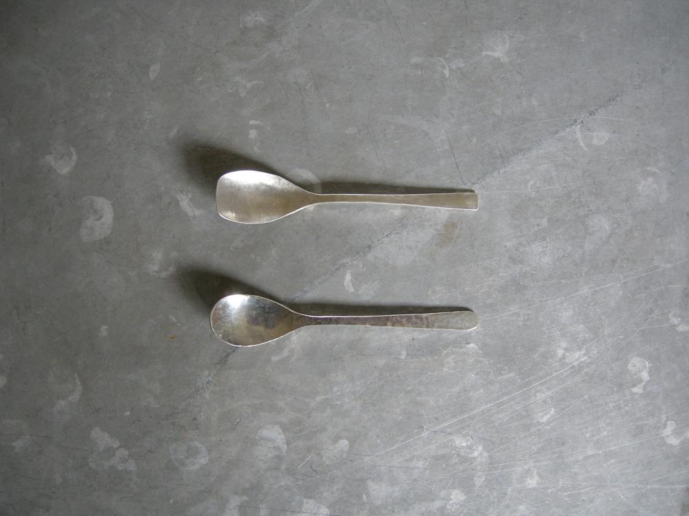 カップアイススプーン 9cm(銀) ¥2,600〜¥3,300