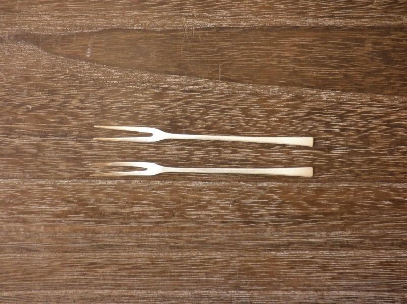 フルーツフォーク 10cm(銀) ¥1,900〜2,300