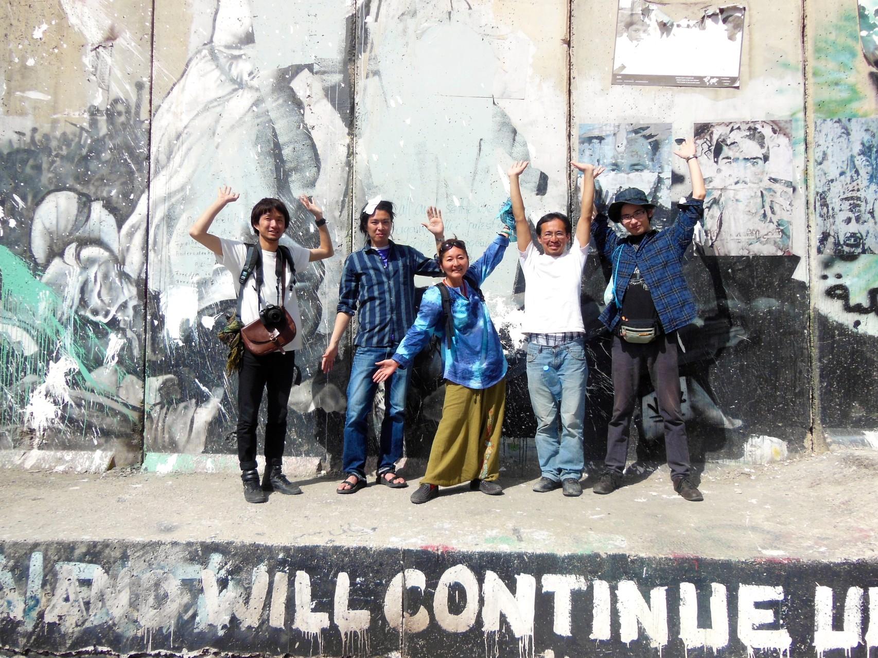 イスラエルとパレスチナ自治区のボーダー