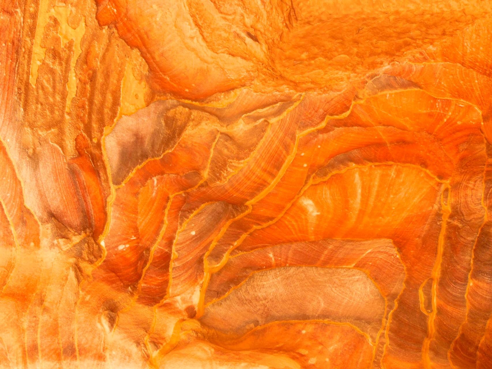 何万年も砂が蓄積されて、マーブル模様みたい