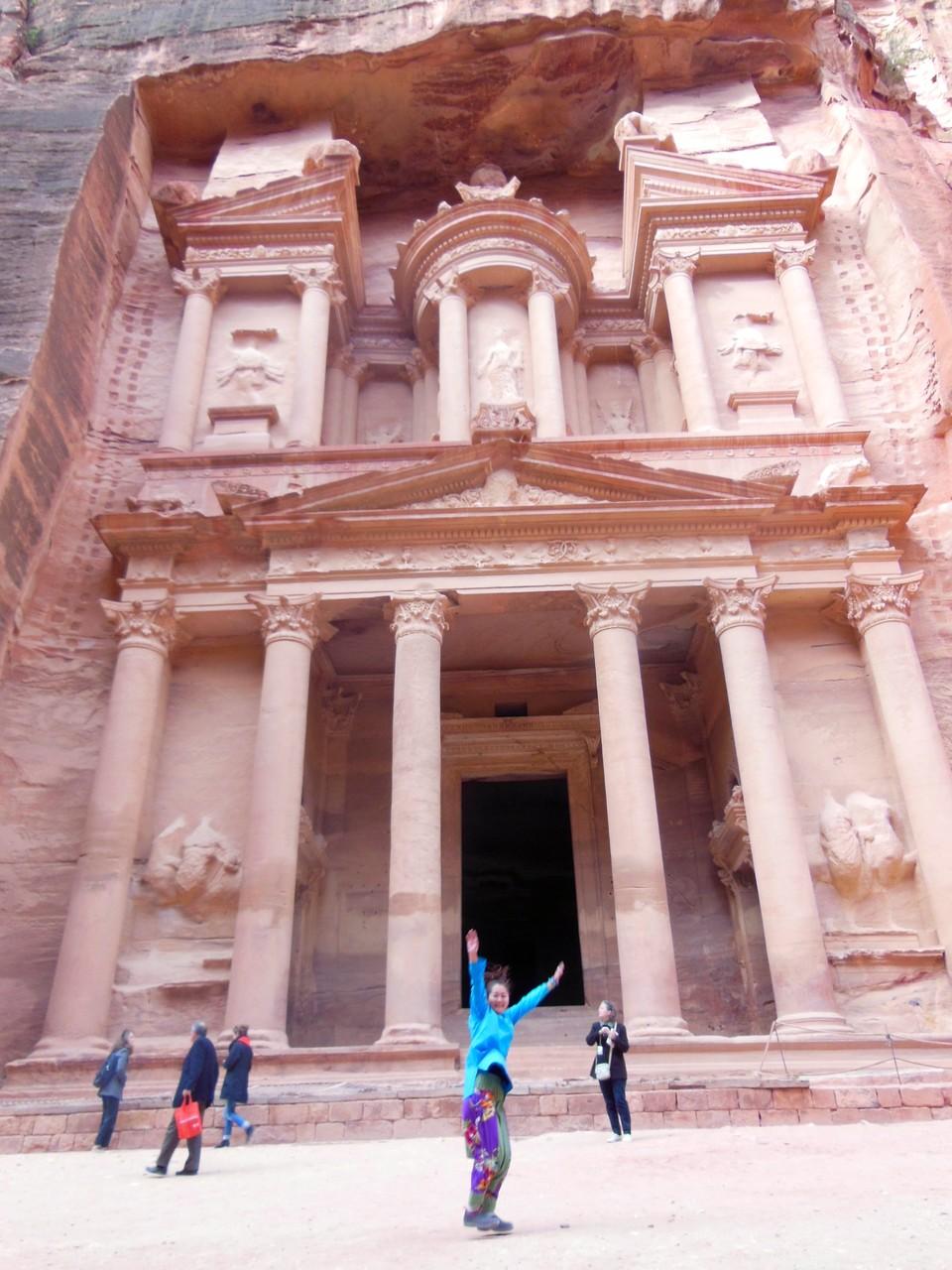 念願のペトラ宮殿