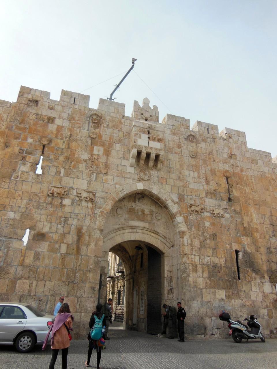 エルサレム旧市街 ダマスカス門