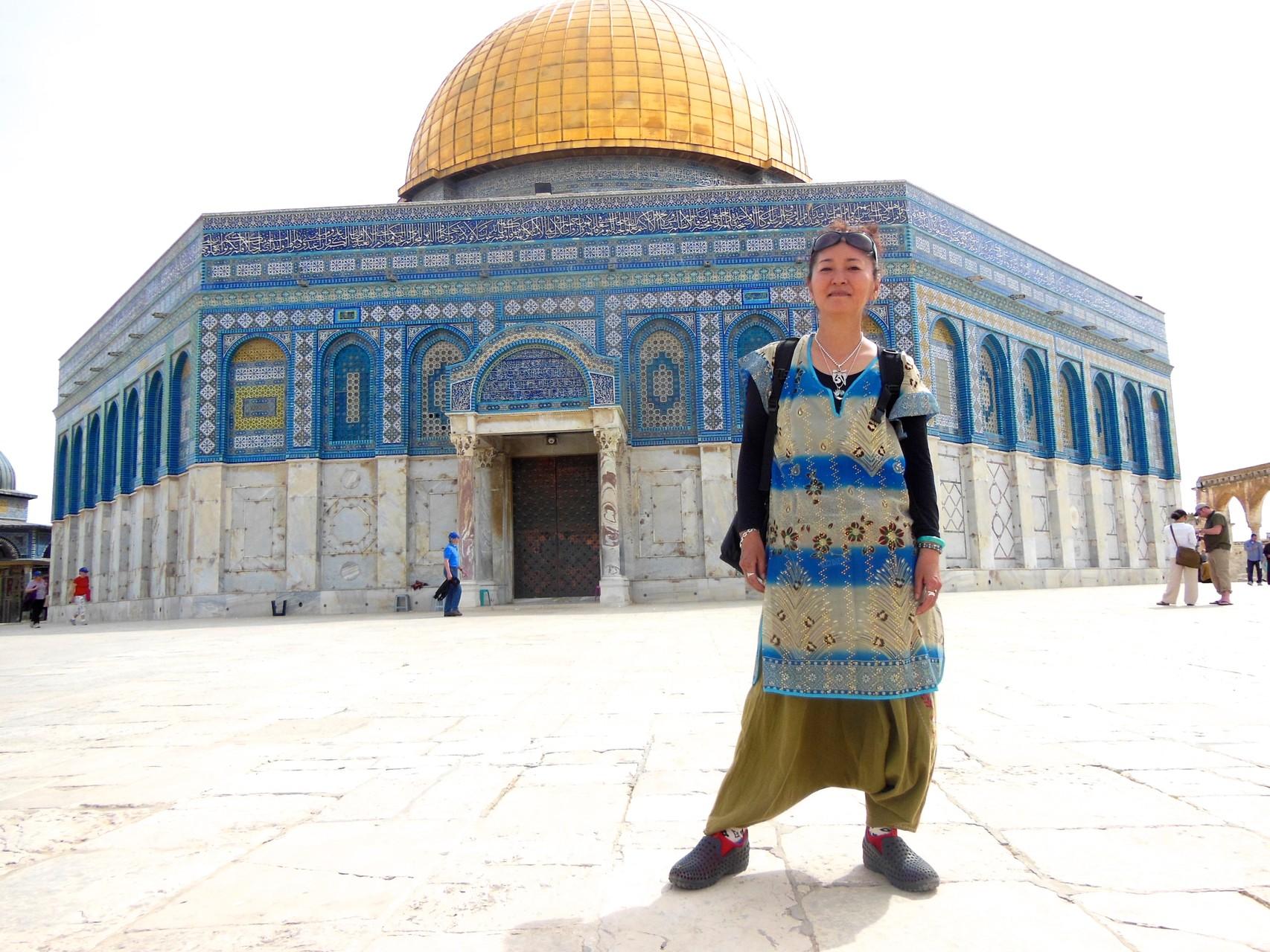 イスラム教徒の聖地 岩のドーム