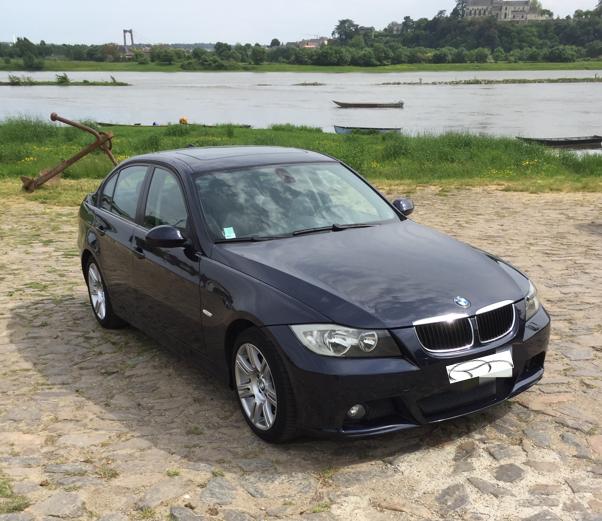 BMW 320DA E90 pack Luxe 2006 172.000KM  8.500€