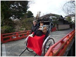 鎌倉の人力車を初体験