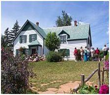 アンの家をイメージした家 (カナダ、プリンスエドワード島)